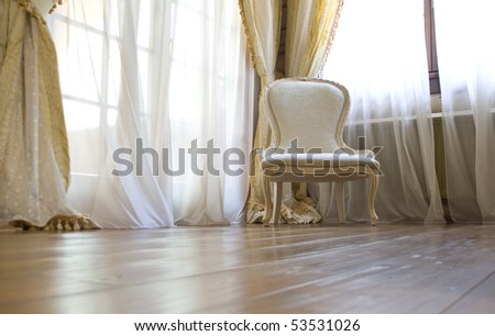 Vintage interior - stock photo