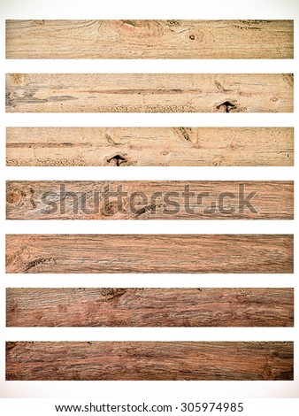 Vintage Isolate Wood plank brown texture background in light color tone.Vintage Style. - stock photo