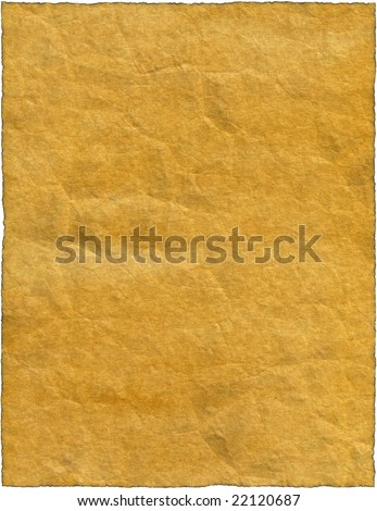 Vintage isolated old retro ripped paper Background