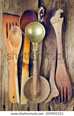vintage kitchen utensils stock images, royalty-free images