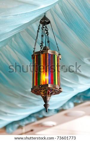 vintage lamp - stock photo