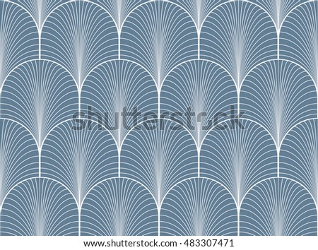 Cheap vintage light blue seamless art deco wallpaper pattern with art deco wallpaper