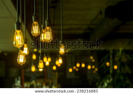 Vintage Lighting  - stock photo