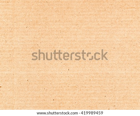 Vintage looking Brown corrugated cardboard useful as a background