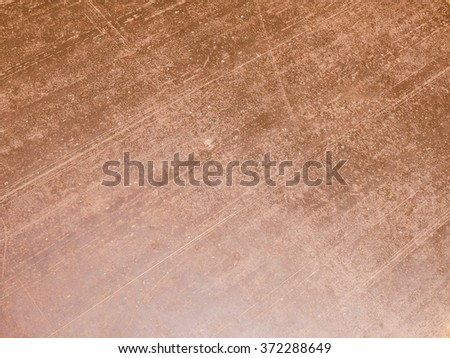 Vintage looking Brown rusted steel texture useful as a background