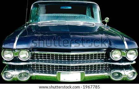 Vintage Luxury Automobile - stock photo