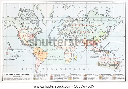 World map on white background purple vectores en stock 575686681 vintage map representing animal geography at the end of 19th century picture from meyers lexicon gumiabroncs Image collections