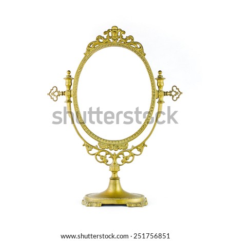 Vintage Mirror - stock photo