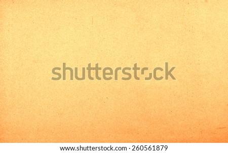 Vintage natural paper texture background - orange - stock photo