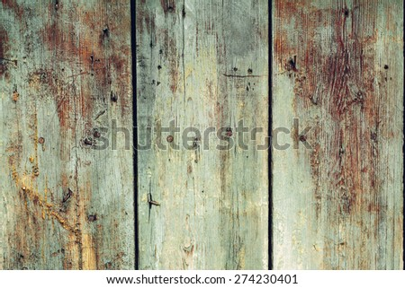 vintage natural wood wall textured  wallpaper background - stock photo