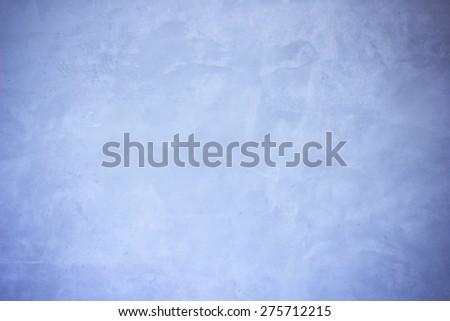 Vintage of blue mortar gray wall background and texture - stock photo