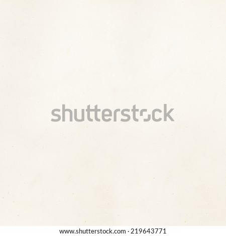Vintage Off White Parchment Paper Background - stock photo