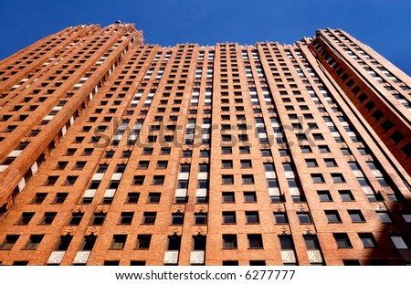 Vintage Office Building - stock photo