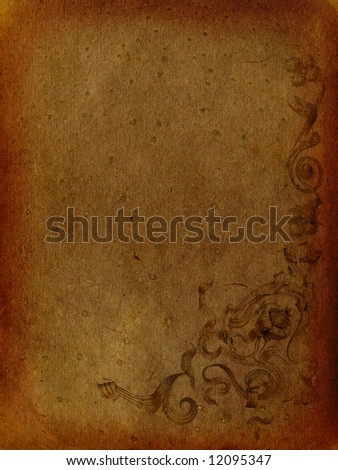 Vintage, old and retro backgrounds - stock photo