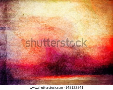 Vintage old paper background - stock photo