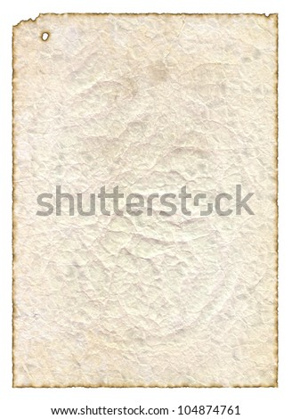 Vintage old paper texture to background - stock photo