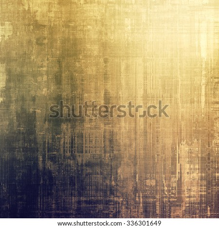 Vintage old texture with space for text or image, distressed grunge background. With different color patterns: yellow (beige); brown; blue; gray - stock photo