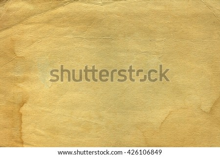 Vintage old worn paper - stock photo