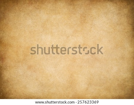 Vintage old worn paper texture background - stock photo