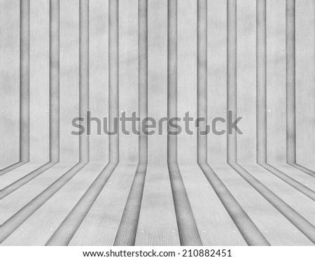 Vintage or grungy background of natural wooden - stock photo