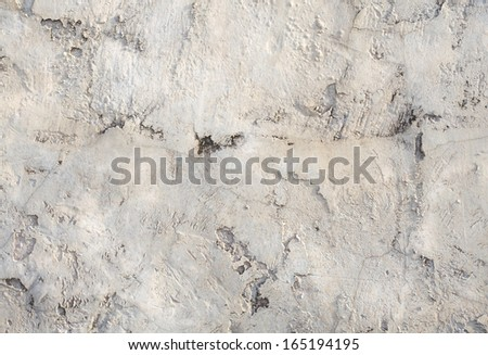 Vintage or grungy white background of natural cement  - stock photo