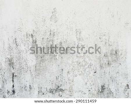 Vintage or grungy white background of natural cement or stone old texture as a retro pattern layout. It is a concept, conceptual or metaphor wall banner, grunge, material, aged, rust or construction - stock photo