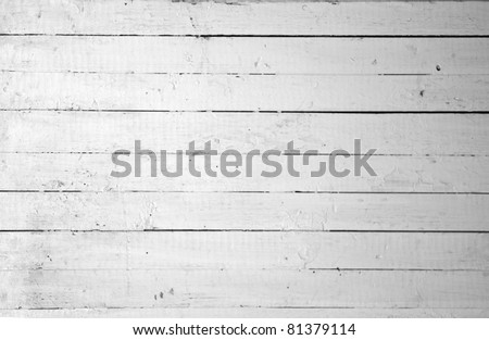 Vintage or grungy white background of natural wood or wooden old texture as a retro pattern layout. It is a concept, conceptual or metaphor wall banner for time, grunge, material, aged, rust. - stock photo