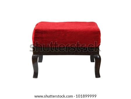 Vintage Ottoman. Isolated with clipping path. - stock photo