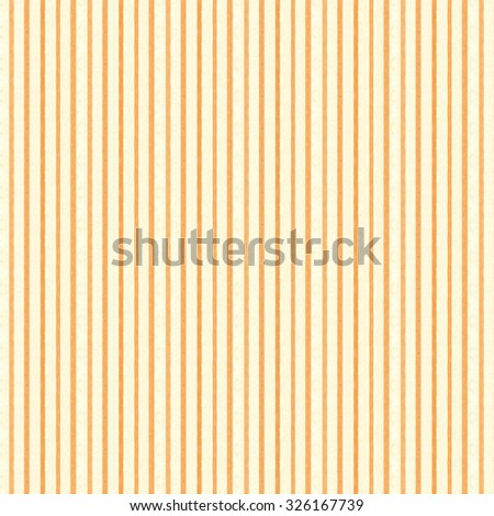 Vintage paper background with orange screen dotted stripes and cream colored paper stripes - stock photo