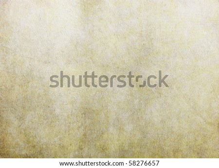 Vintage paper texture in yellow color - stock photo