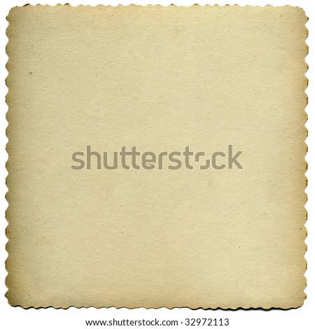 Vintage Paper With Border Frame