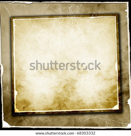 Vintage Papers - stock photo