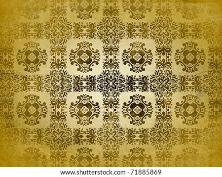 Vintage pattern - stock photo