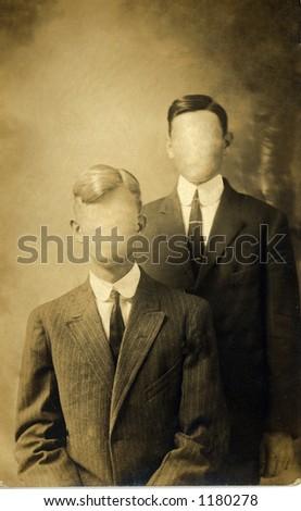 Vintage photo - stock photo