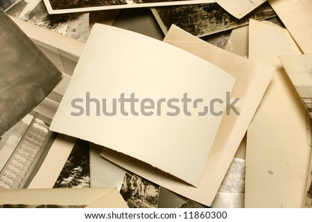 Vintage Photo. Abstract Background. - stock photo