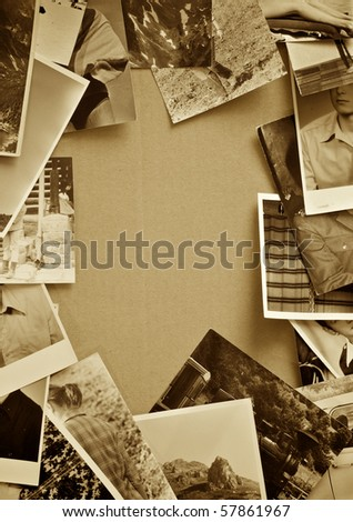 Vintage photo background. - stock photo