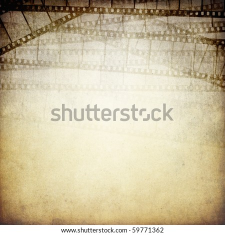 Vintage photographic background with space for text. - stock photo