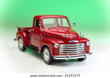 Vintage pickup - stock photo