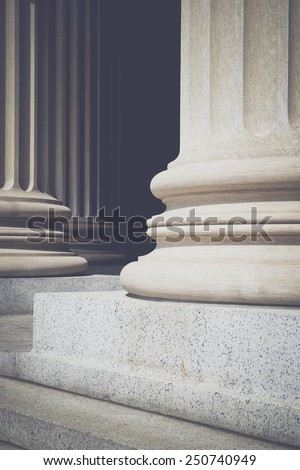 Vintage Pillars of Law