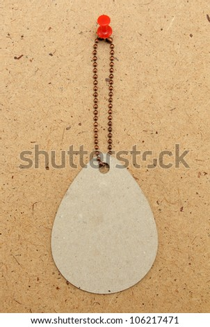 vintage price tag wood background. - stock photo