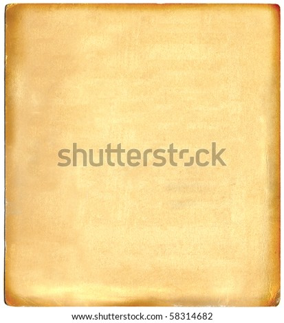Vintage Real Photo Cardboard - stock photo