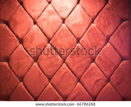 vintage red wall - stock photo