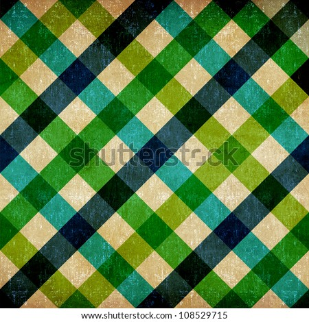 Vintage restaurant tablecloth seamless pattern background. - stock photo