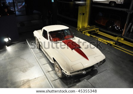 Vintage roadster - stock photo