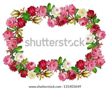 Red Flower Wall Art Amazoncom
