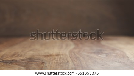 vintage rosewood wooden surface background in perspective view, 4k photo with shallow focus