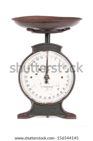 Vintage Scales - stock photo