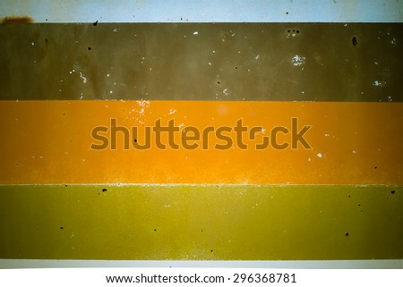 vintage school Bus Side - stock photo