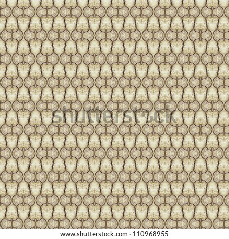 Vintage shabby background with classy patterns. Seamless vintage delicate colored wallpaper. Geometric and floral pattern on paper texture in grunge style. - stock photo