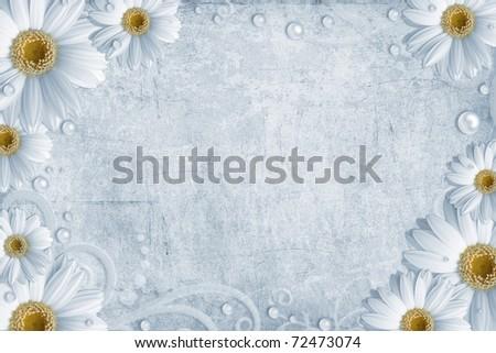 Vintage daisy backgrounds